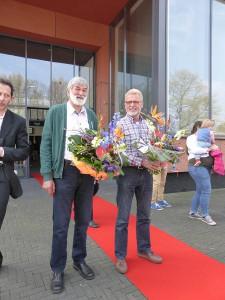 Op 24 april 2015 werden Gerrit Lemans en Jan Nijkamp Lid in de Orde van Oranje Nassau.